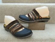 Art Company Full Front Strappy Mules Size Uk 5 38