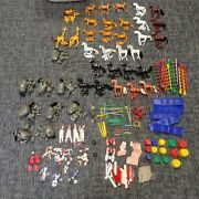 Huge Lot Of 1950s Vintage Revell Circus Sets Animals People