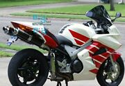 White Glossy Abs Fairing With Tank Cover Fit Honda Vfr800 2002-2012 24 A6