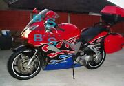 Red Glossy Abs Fairing With Tank Cover Fit Honda Vfr800 2002-2012 30 A7