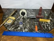Vintage 14-piece Miscellaneous Lot Of Tools, Fountain Pen, Fossil Watch And More