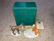 Walt Disney Classics Collection Wdcc Lady And The Tramp In Love Figures Statues