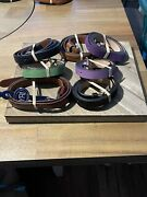 Lot Of 10 New Men's And Women's Belts From Yri And Peter Millar Lot Brown , Black