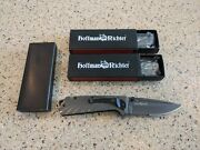 Hoffman And Richter Hr-15 Stainless Steel Tactical Folding Knives 3 Pack
