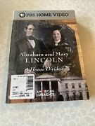 Abraham And Mary Lincoln A House Divided Dvd 2001 3-disc Set Brand New Pbs