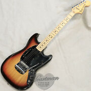 Fender Usa Mustang And03978 Sunburst M Vintage Used Electric Guitar