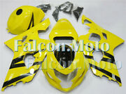 Injection Mold Fairing Yellow Black Fit For 2004 2005 Gsx-r 600 750 K4 04 05 Iel