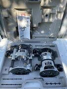Porter Cable Router Kit 6902 Motor 1001 And 6931 Base W/ Case Usa
