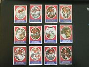 1972 Sunoco Football Stamps New England Patriots Complete Set All 24 Stamps