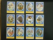 1972 Sunoco Football Stamps San Diego Chargers Complete Set All 24 Stamps