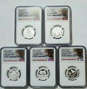 2020 S Limited Edition Quarter Proof Set First Day Of Issue Ngc Pf70 Ultra Cameo