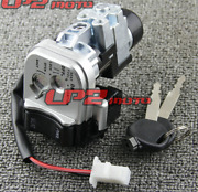 Ignition Switch Fuel Gas Cap Seat Lock Key For Honda Pcx125 2012-2013