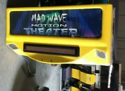 Arcade Triotech Mad Wave Motion With 55 Flat Screen And Spare Parts Working