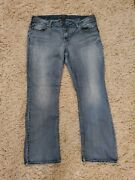 Silver Tuesday Light Wash Plus Size Bootcut Jeans Size 22 X 33