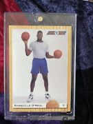 """Shaquille O'neal Rookie Card Classic 92 140 """"very Rare"""" Low Print"""