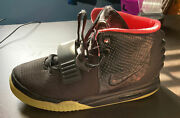Size 11 - Nike Air Yeezy 2 Nrg Solar Red 2012 Left Shoe Only