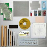 Art Clay Dx Deluxe Starter Kit Silver Clay Pmc Tools Kiln Set For Ring And Jewelry