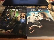 Fringe The Complete Season 1 And 2 Dvd Box Sets Sci-fi Tv Series. - 14 Discs