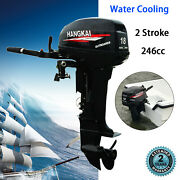 2 Stroke 18hp Outboard Motor Engine Fishing Boat With Cdi Water Cooling System