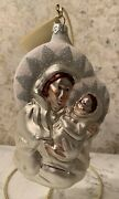 Patricia Breen Madonna Of The Day – Pearl, Silver, And Pink - Ornament – Nwt