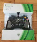 New Genuine Microsoft Xbox 360 Wired Controller Gamepad Rare Factory Sealed 2010