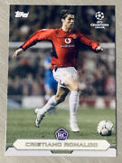 2020 Topps Cristiano Ronaldo Rc Lost Rookie Manchester United In Hand