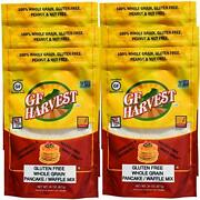 Gf Harvest Gluten Free Whole Grain Pancake And Waffle Mix 31 Ounce Bag Pack Of 6