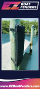 Ez Boat Fenders - Bumpers With Velcro For Boats Docks And Piling Poles 30andrdquox9andrdquox3andrdquo