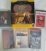 Psp God Of War Chains Of Olympus Limited Playstationportable Red New Sealed Sony