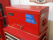 Vintage Used Snap On Tool Box Chest Cabinet 9 Drawer Nice Owned 40+ Years