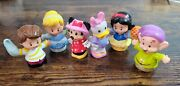 Fisher Price Little People Disney Princess Minnie Daisy Lot Of 6 Figures