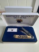 Kentucky Wildcats Case Knife 1998 Ncaa Champions Tubby And The Boys