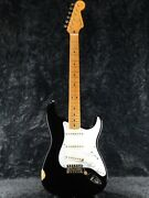 Used Fender Usa American Vintage And03957 Stratocaster Black 1990 Guitar
