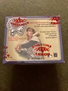 2001 Fleer Greats Of The Game Factory Sealed Baseball Hobby Box Ted Williams