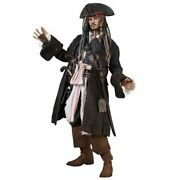Pirates Of The Carribean Hot Toys Dx Movie Masterpiece 1/6 Figure Jack Sparrow