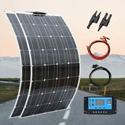 Complete Solar Panel System Battery Charger 100w-400w Rv Boat Car Home 12v/24v