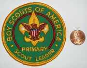 Bsa Oa Boy Scouts Of America Insignia Position Patch Primary Scout Leader New