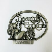 Miss Piggy Muppets Pewter Beauty 1981 Little Gallery Hallmark Limited Edition