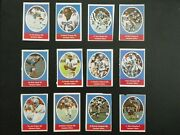 1972 Sunoco Football Stamps Houston Oilers Complete Set All 24 Stamps