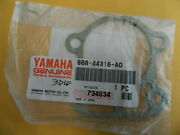 Yamaha Marine Oem Part 688-44316-ao Gasket Water Pump For 2-strokes 1984-93
