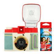 Lomography Diana F+ Camera And Flash 10 Years Of Diana Edition With Color Films