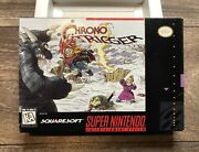 Chrono Trigger Super Nintendo Snes Authentic Box And Tray Only