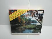 New 500 Piece Puzzle Wisconsin Boulder Lake River Junction Autumn Fall Scenic