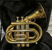 Brasspire Pocket Trumpet Limited Edition Lacquer