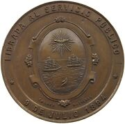 Argentina Medal 1894 May Avenue Inauguration 38m 20.9g T133 461