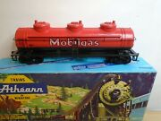 Athearn 1501 3 Dome Tanker Mobilegas Mint Condition 1.0