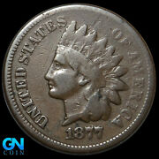 1877 Indian Head Cent Penny -- Make Us An Offer K8865