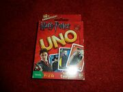 Rare Harry Potter Uno Card Game Mattel 2010 Sealed 112 Cards 40th Anniversary