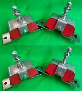 4 Stainless Marine Engine Motor Mount Replaces Yanmar 2gm 2ym 3gm 3ym 100 And 75