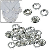 Prym Snap Poppers Press Stud Fasteners Gripfix Prong Ring For Baby Clothes
